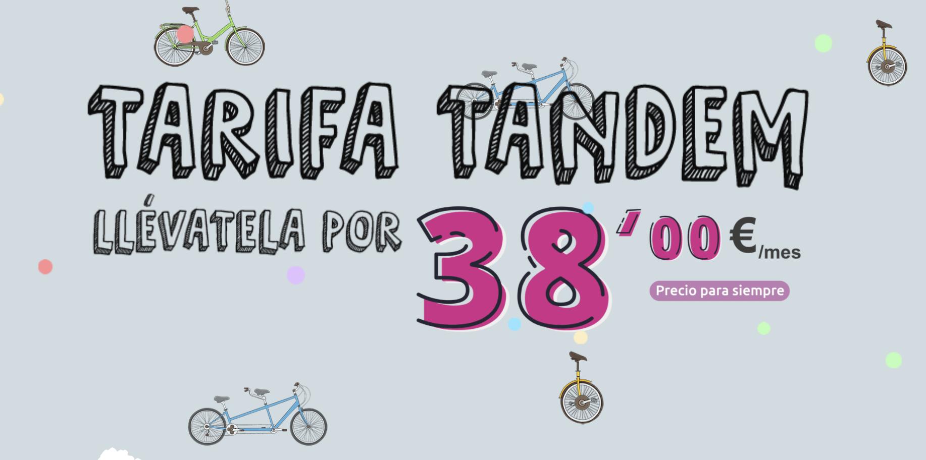 Tarifa Tandem Vivacable